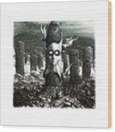 Steampunk Wood Print