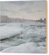 Storforsen - Sweden Wood Print