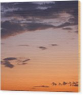 Sunset Moreno Valley Ca Wood Print