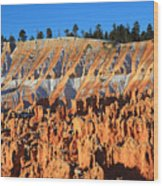 Sunset Point In Bryce Canyon Wood Print