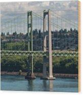 Tacoma Narrows Bridge Wood Print