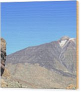 Tenerife - Mount Teide Wood Print