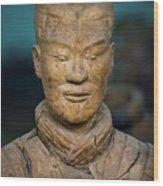 Terracotta Warrior Pit 1 Xian Shaanxi China Wood Print