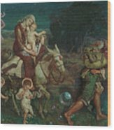 The Triumph Of The Innocents Wood Print