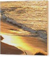 Black Sand 1 Wood Print