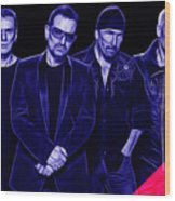 U2 Collection Wood Print