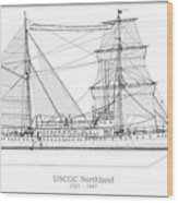 U.s. Coast Guard Cutter Northland Wood Print