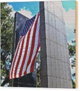 Viet Nam Veteran's Memorial  Wood Print