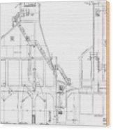 600 Ton Coaling Tower Plans Wood Print