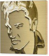 Elvis Presley Collection Wood Print
