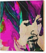 Eric Clapton Collection Wood Print