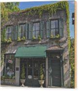 61 Queen Street In Charleston Wood Print
