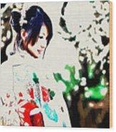 Asian Wood Print