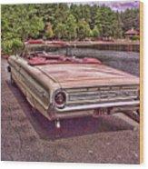 64 Ford Wood Print