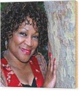 African American Female. Wood Print