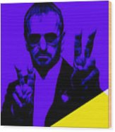 Ringo Starr Collection Wood Print