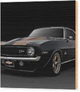 '69 Camaro Z28 Wood Print