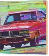 69 Dodge Charger  Wood Print