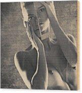 6908 Wood Print