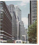 6th Avenue New York 1950 Wood Print