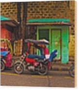 6x1 Philippines Number 48 Panorama Wood Print