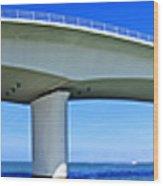 6x1 Sarasota Skyline With Ringling Causeway Bridge Wood Print