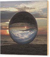 7-24-16--4250 Don't Drop The Crystal Ball, Crystal Ball Photography Wood Print