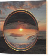 7-26-16--4577 Don't Drop The Crystal Ball, Crystal Ball Photography Wood Print