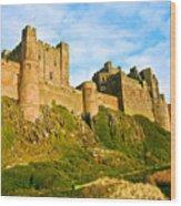 Bamburgh Castle Wood Print