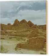 Chaco Canyon Ruins 7 Wood Print