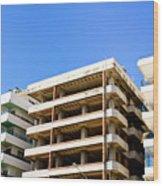 Construction Site Wood Print