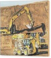 construction whsd Peterburg Wood Print