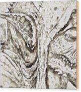 Creature Wood Print