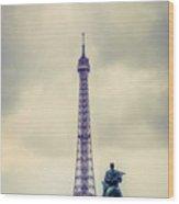 Eiffel Tower, Paris Wood Print
