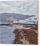 Famara - Lanzarote Wood Print