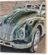 Former East Germany I F A Car Wood Print