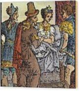 Galen, 129-c200 A.d. Wood Print