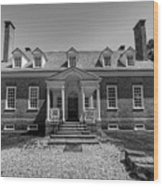 George Mason's Gunston Hall Wood Print