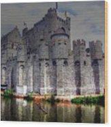 Ghent Belgium Wood Print