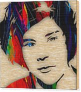 Harry Styles Collection Wood Print