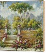 Italian Historical Villas Wood Print