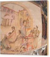 Italy Life Love Linguini Album Wood Print