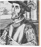 Juan Ponce De Leon Wood Print