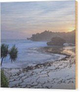Kukup Beach - Java Wood Print