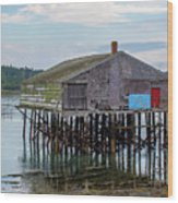 Lubec, Maine  Wood Print