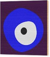 Nazar - Evil Eye Wood Print