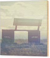 Nose Hill Park Wood Print