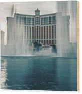 November 2017 Las Vegas Nv - Hotels And Restaurants On Las Vegas Wood Print
