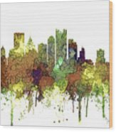 Pittsburgh Pennsylvania Skyline Wood Print
