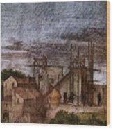 Raphael La Disputa  Wood Print